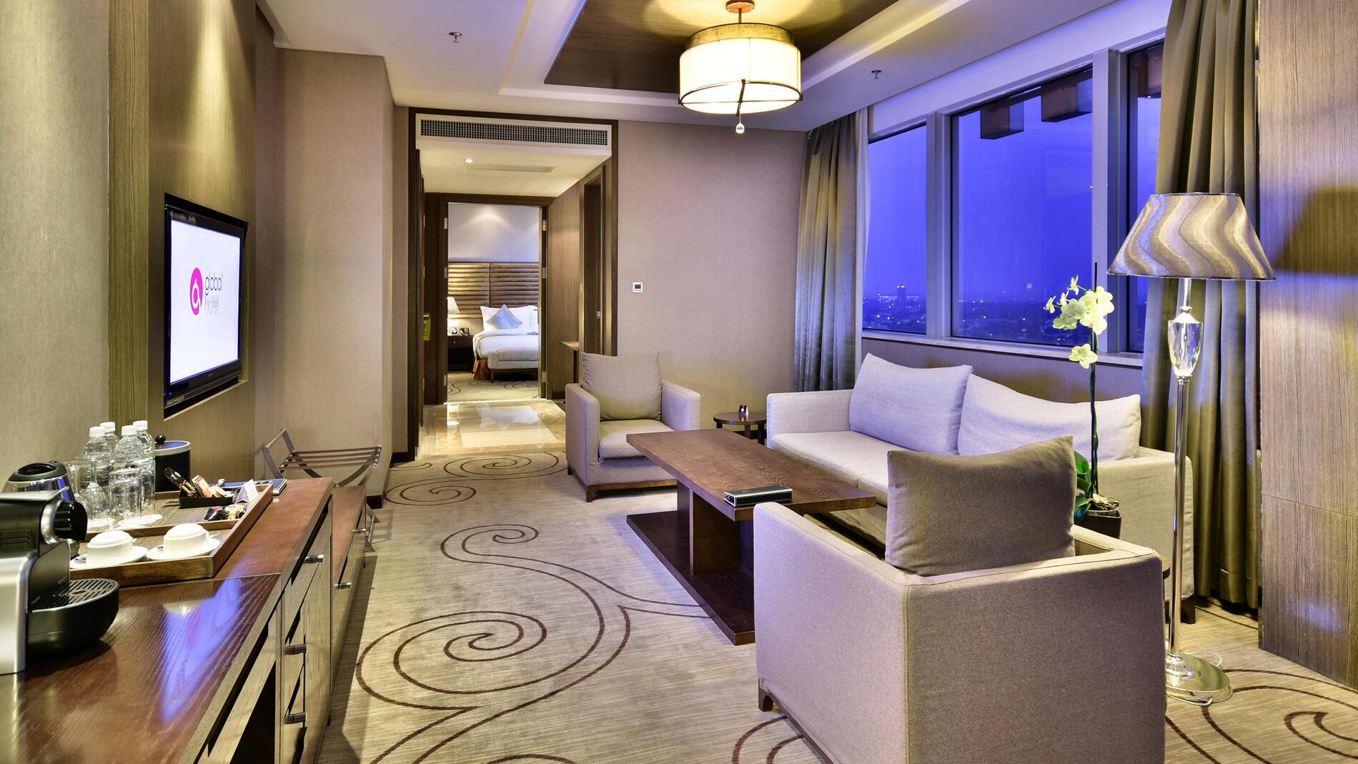 Junior Suite at Fleuve Congo Hotel Hotel in Kinshasa