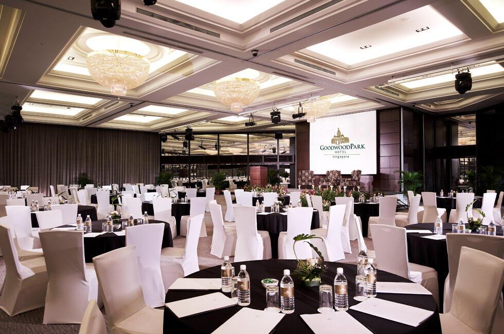 Windsor Ballroom at Goodwood Park Hotel Singapore
