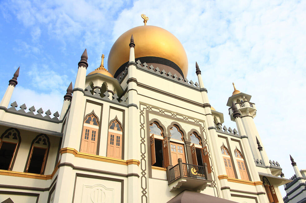 Sultan Mosque at Kampong Glam Singapore