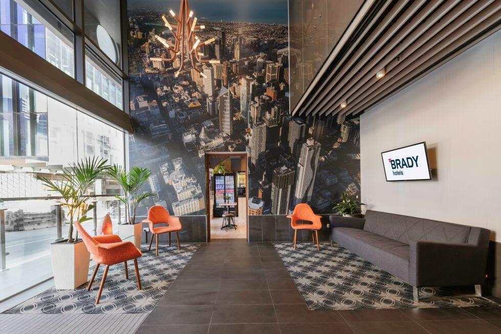 Brady Hotels Central Melbourne Lobby