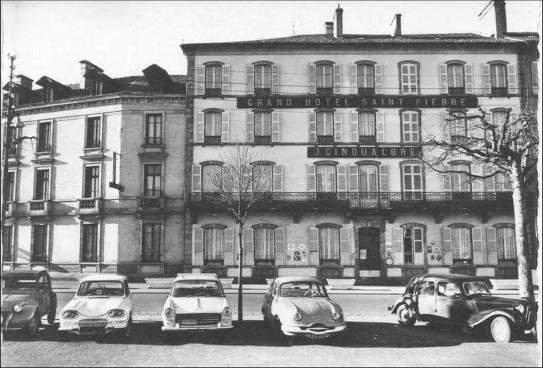 Facade at The Originals Boutique, Grand Hôtel Saint-Pierre
