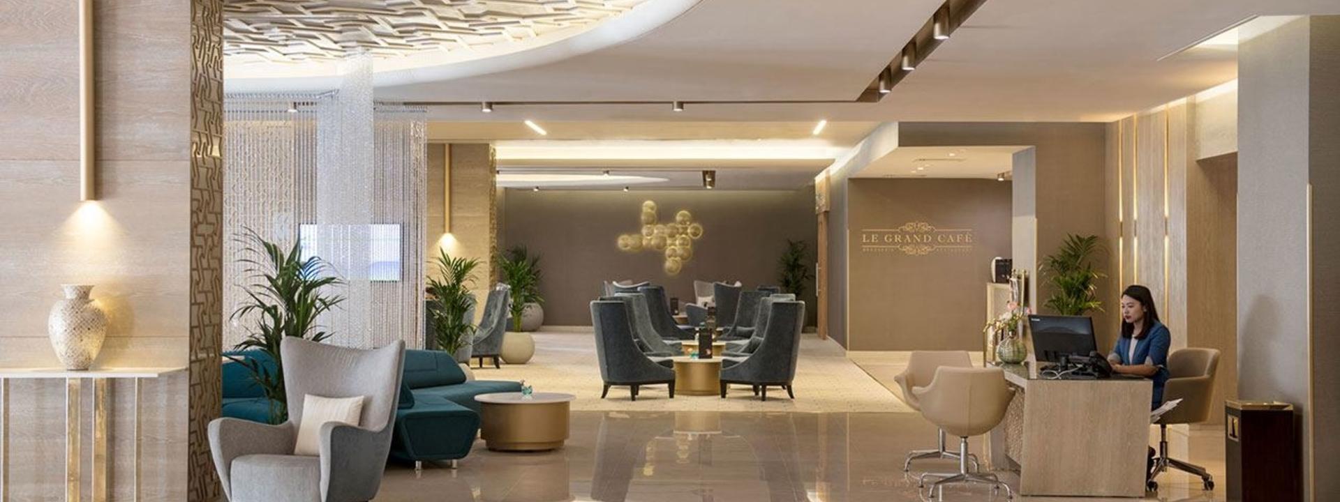 Lobby at Two Seasons Hotel & Apartments in Dubai