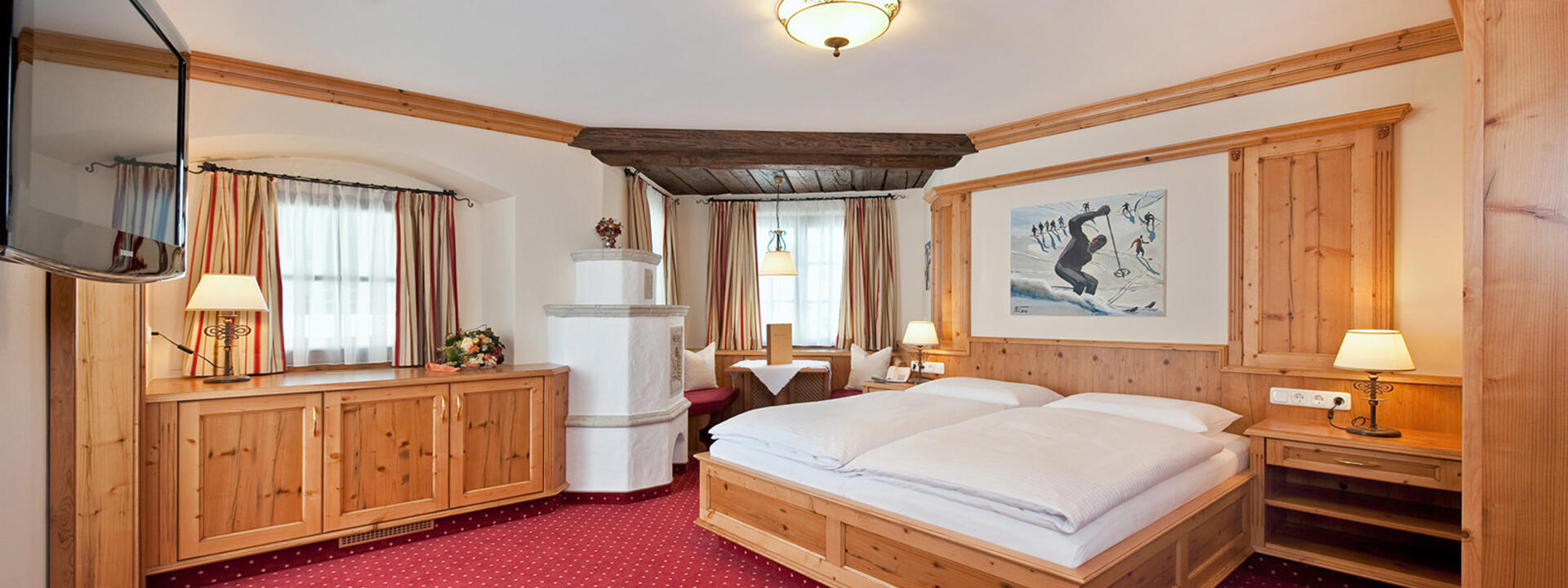 Double Room at Gasthof Eggerwirt Hotel in Kitzbühel, Austria