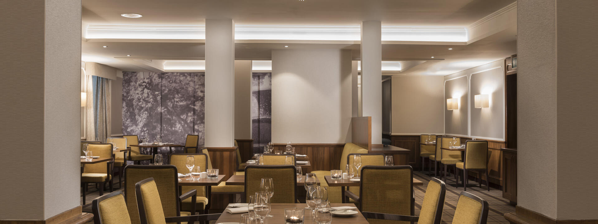 Restaurant view at Precise Resort Baden Baden