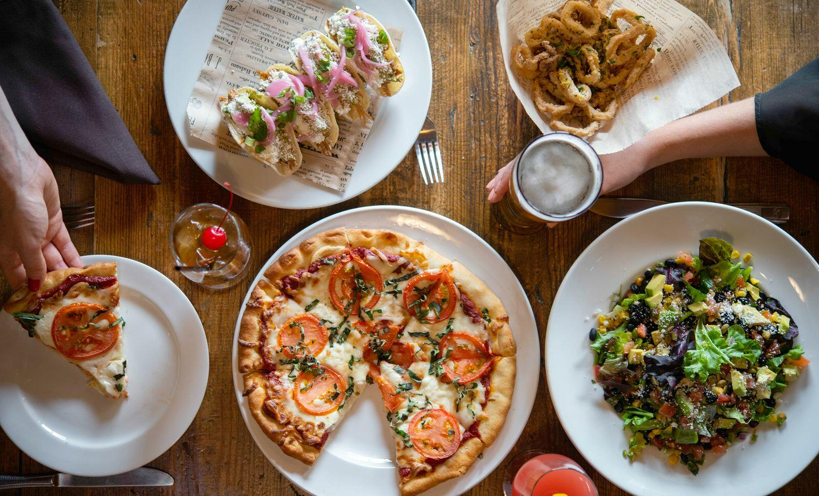 Pizza and more at Rico's American Grill