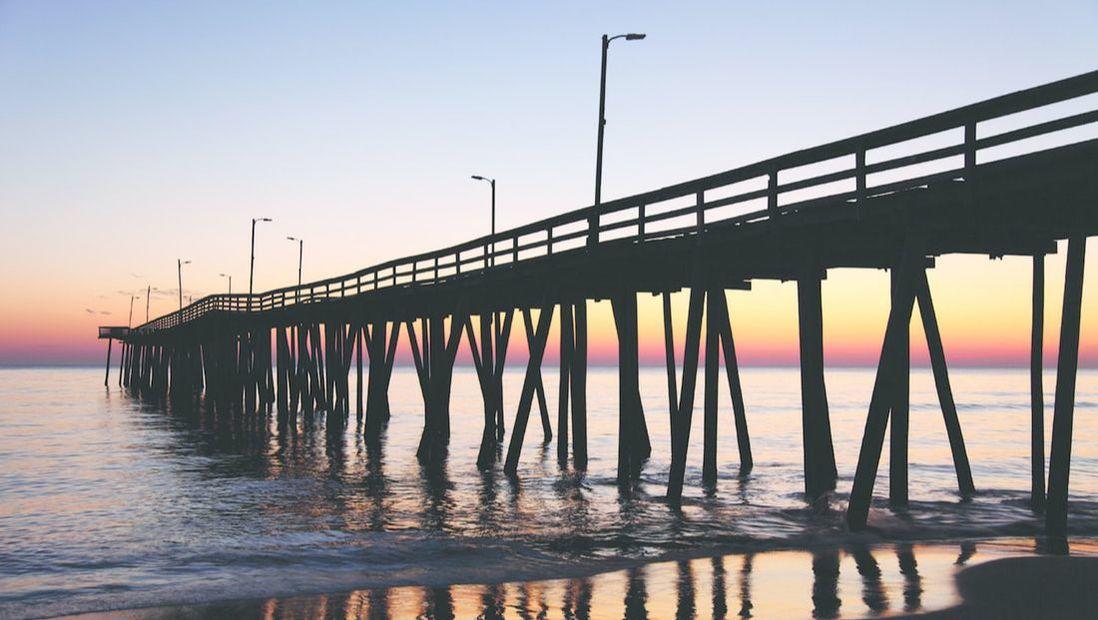 VA Beach fishing pier