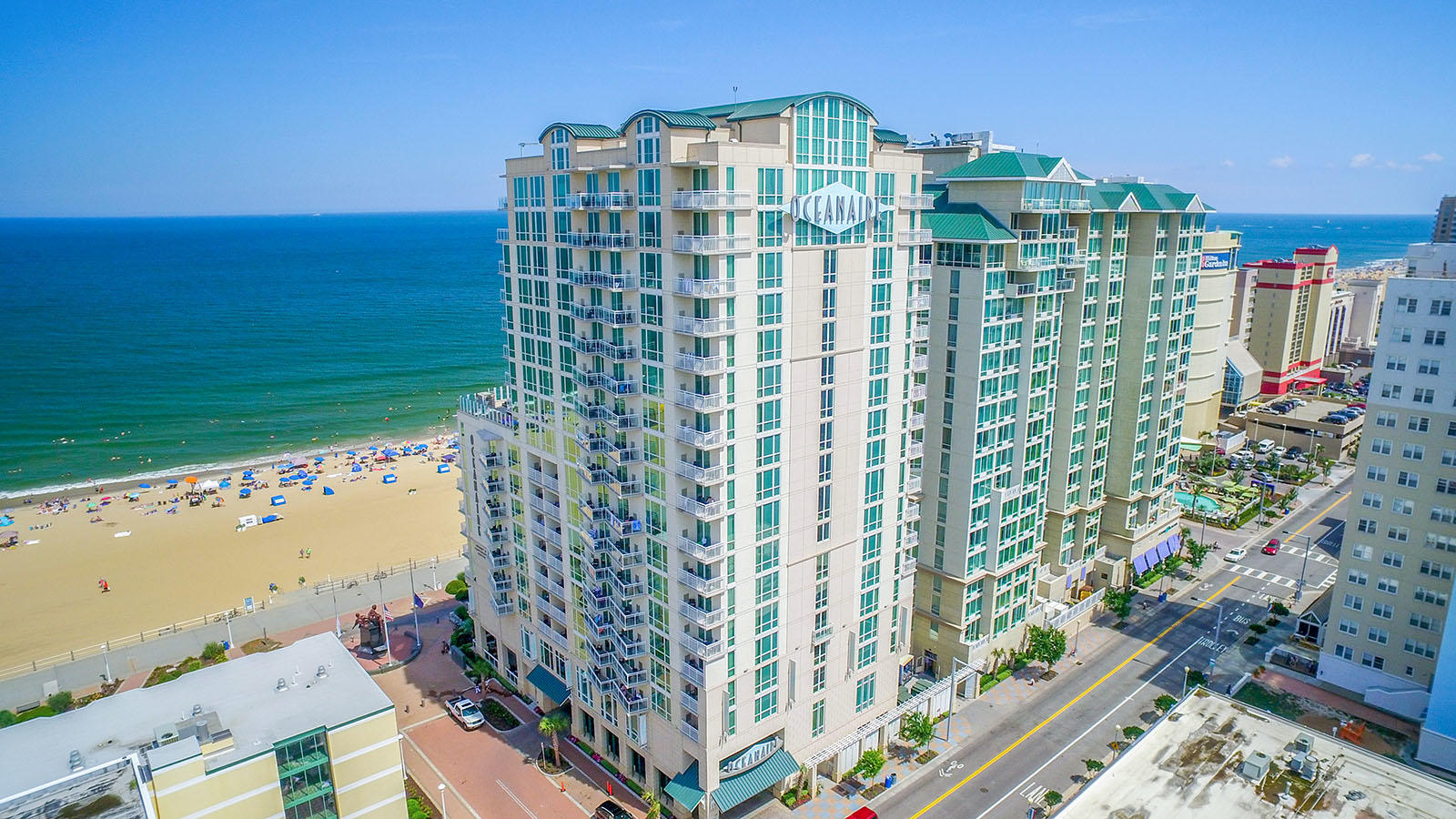 Virginia Beach Hotel Rooms With Ocean View Oceanaire Resort