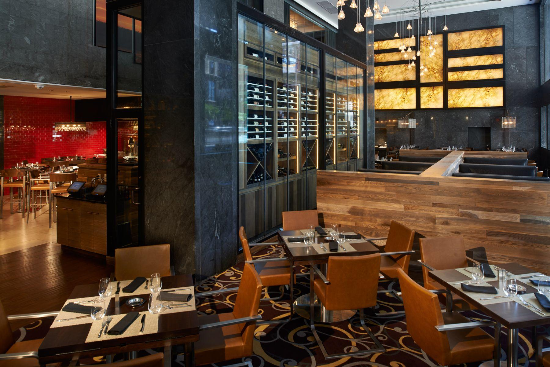 Inside the trendy Adega restaurant