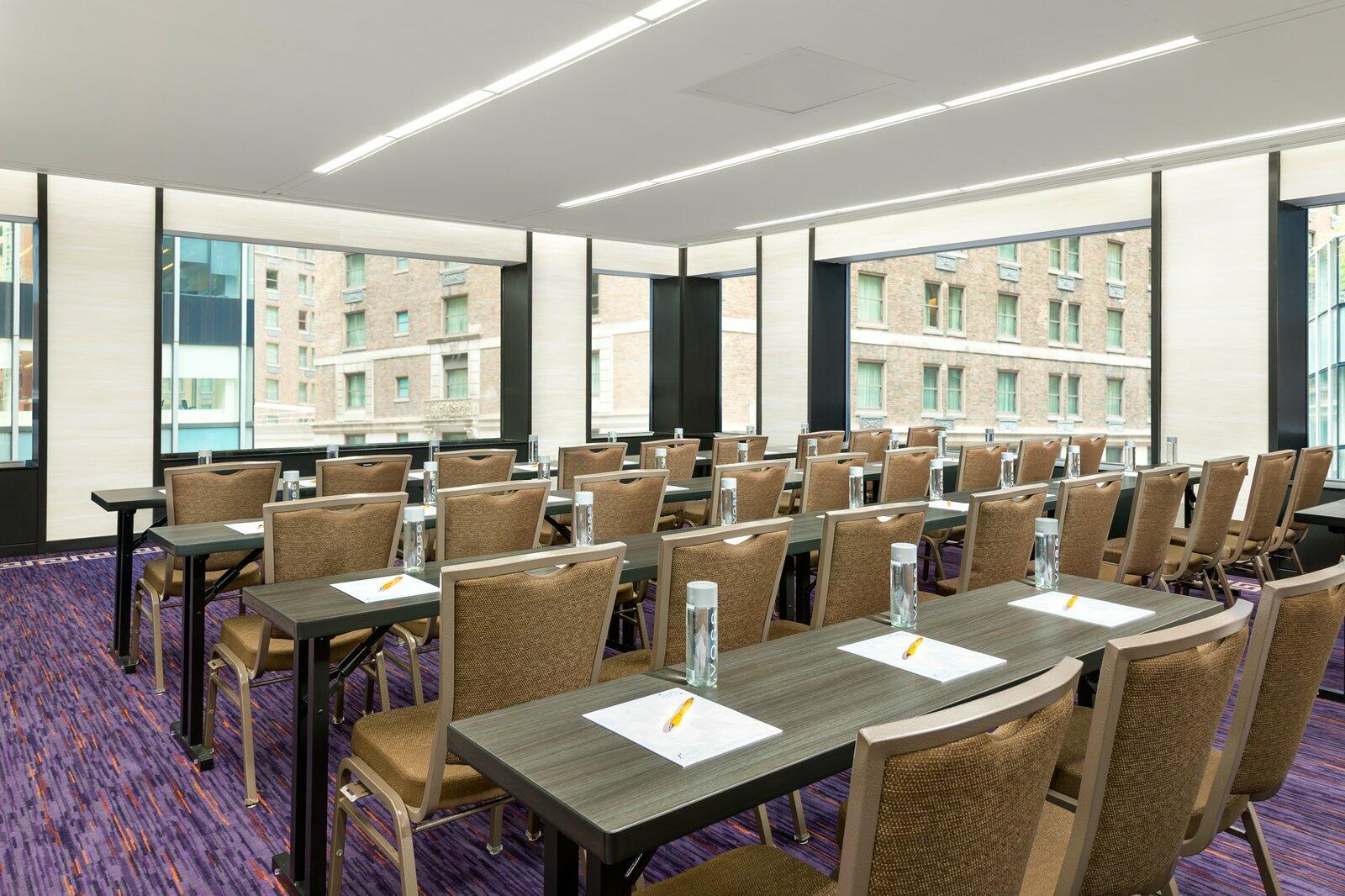 Speakeasy meeting room at The Lexington Hotel