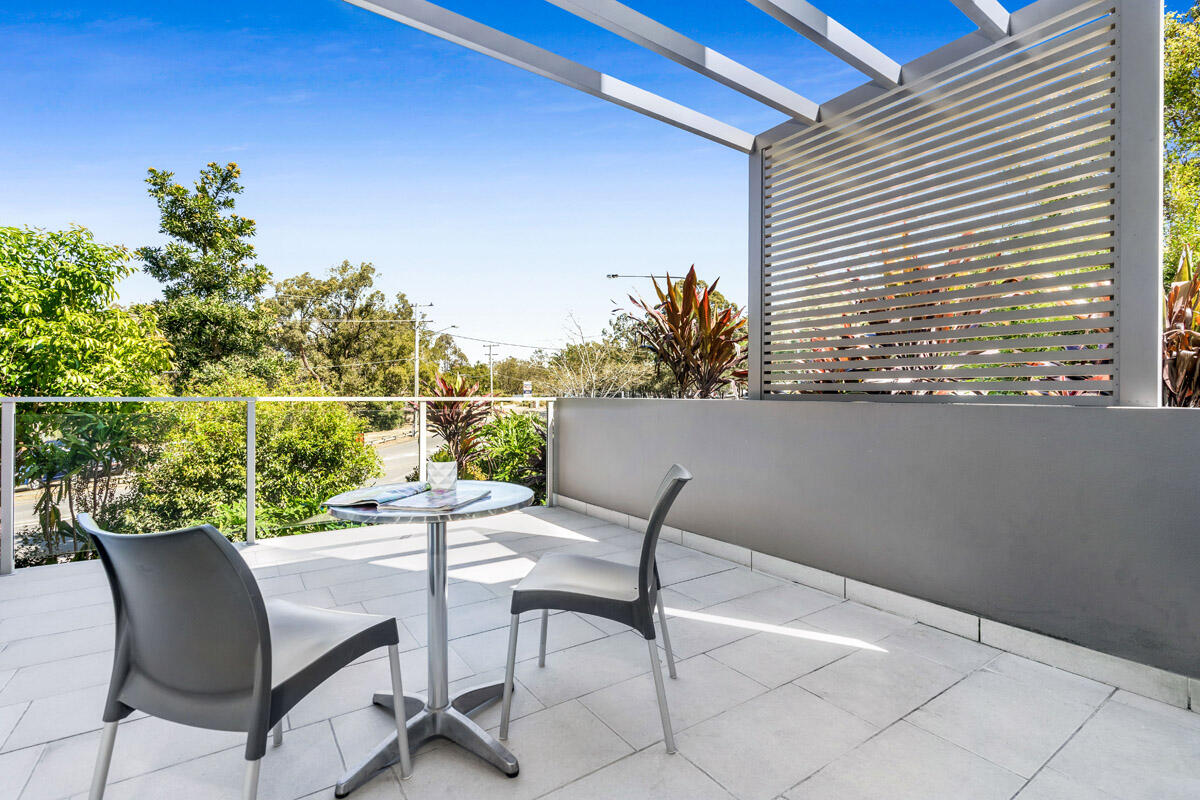 Studio Balcony - Studio - Essence Apartments Chermside