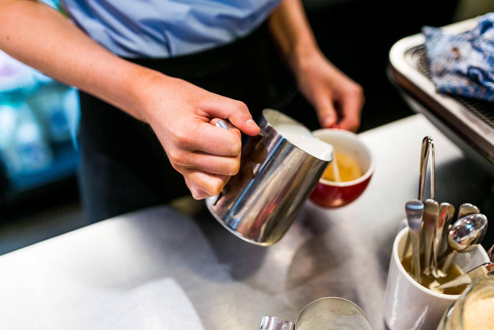 Coffee at Jasper Hotel Melbourne