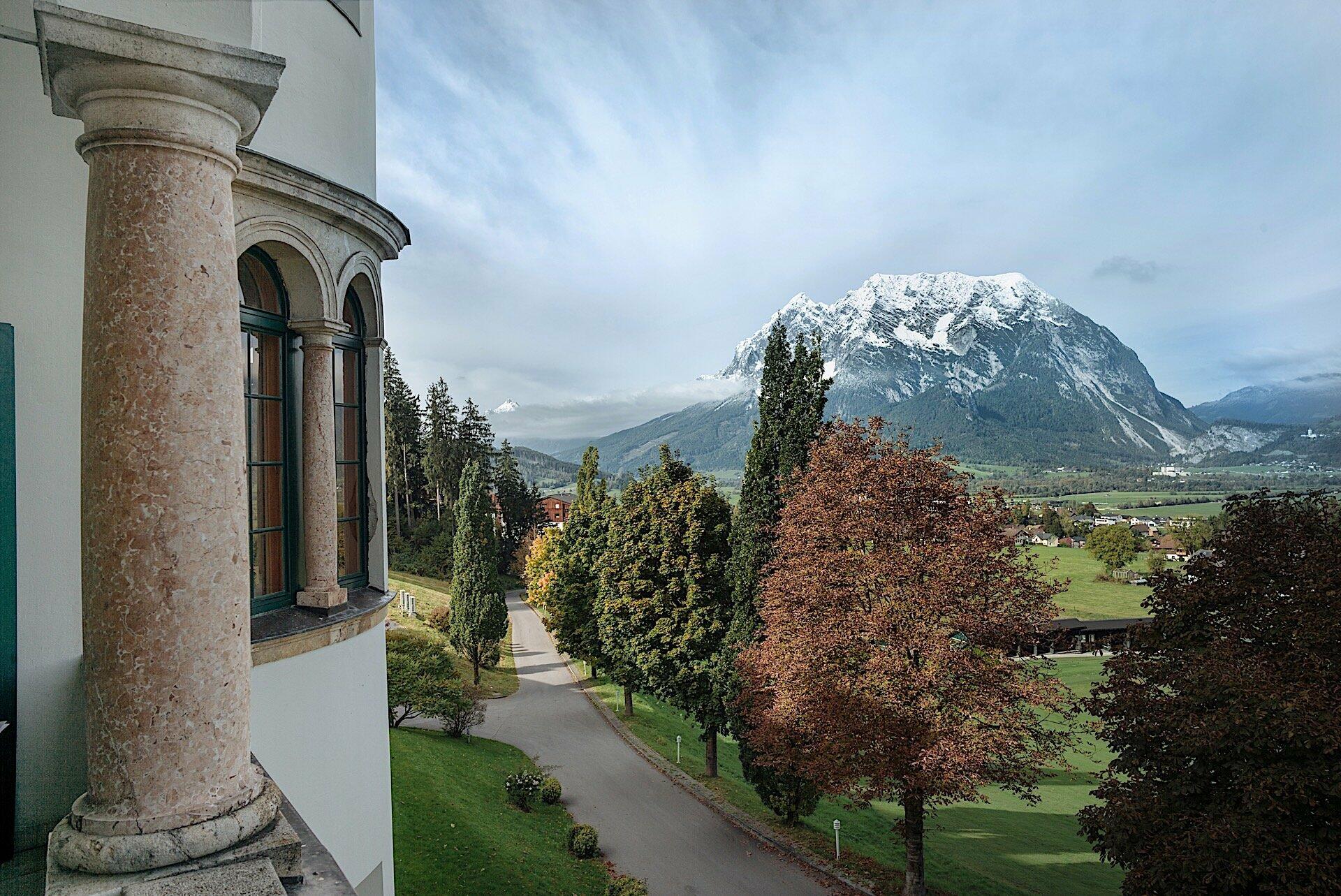 Landschaft im Schloss Pichlarn