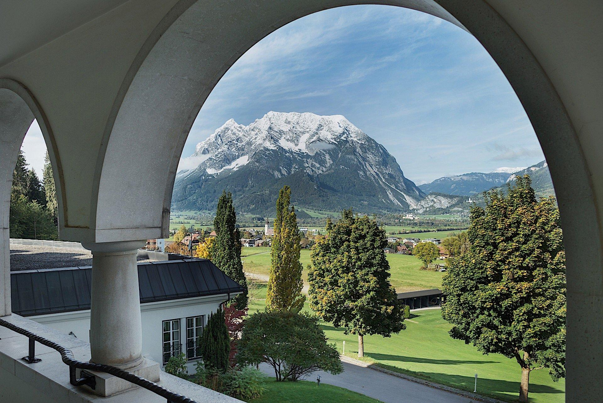 Views from Romantik Hotel Schloss Pichlarn, Austria