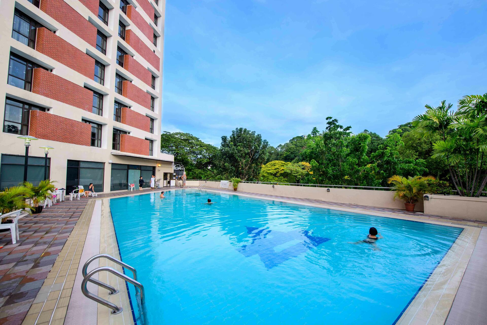 YWCA Fort Canning Lodge Outdoor Swimming Pool