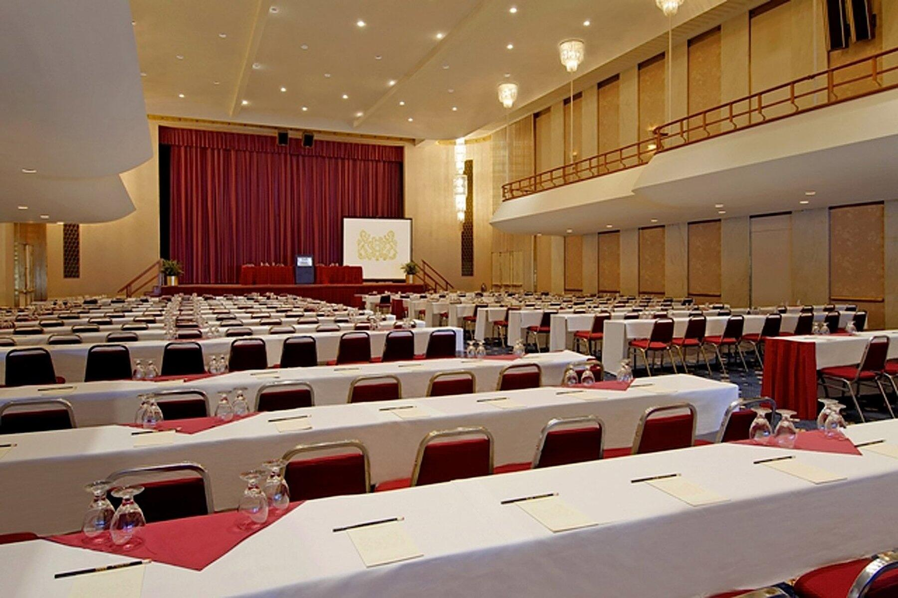 Great Hall set classroom style
