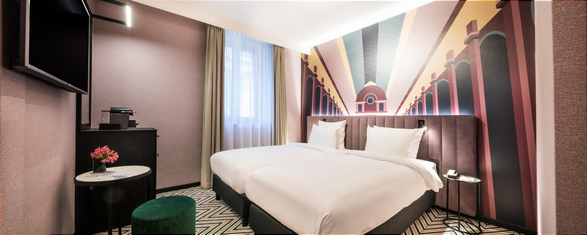 Double room at Hotel Hubert Brussels near Grand Place