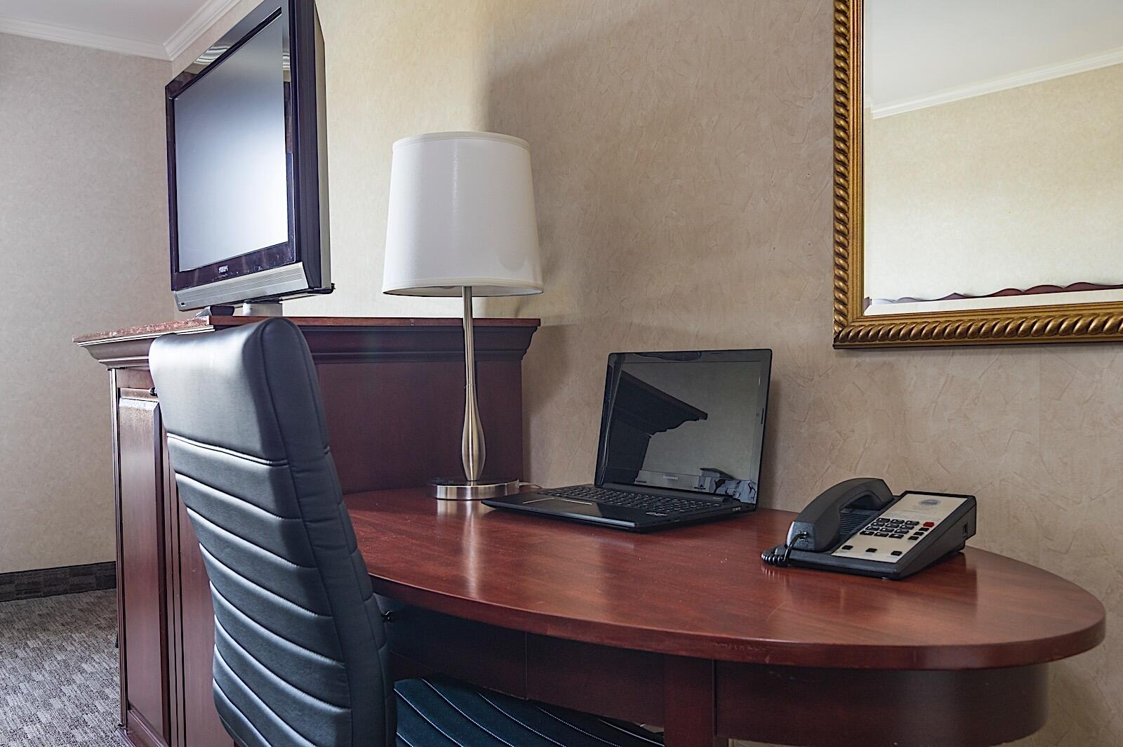 Executive room with work desk