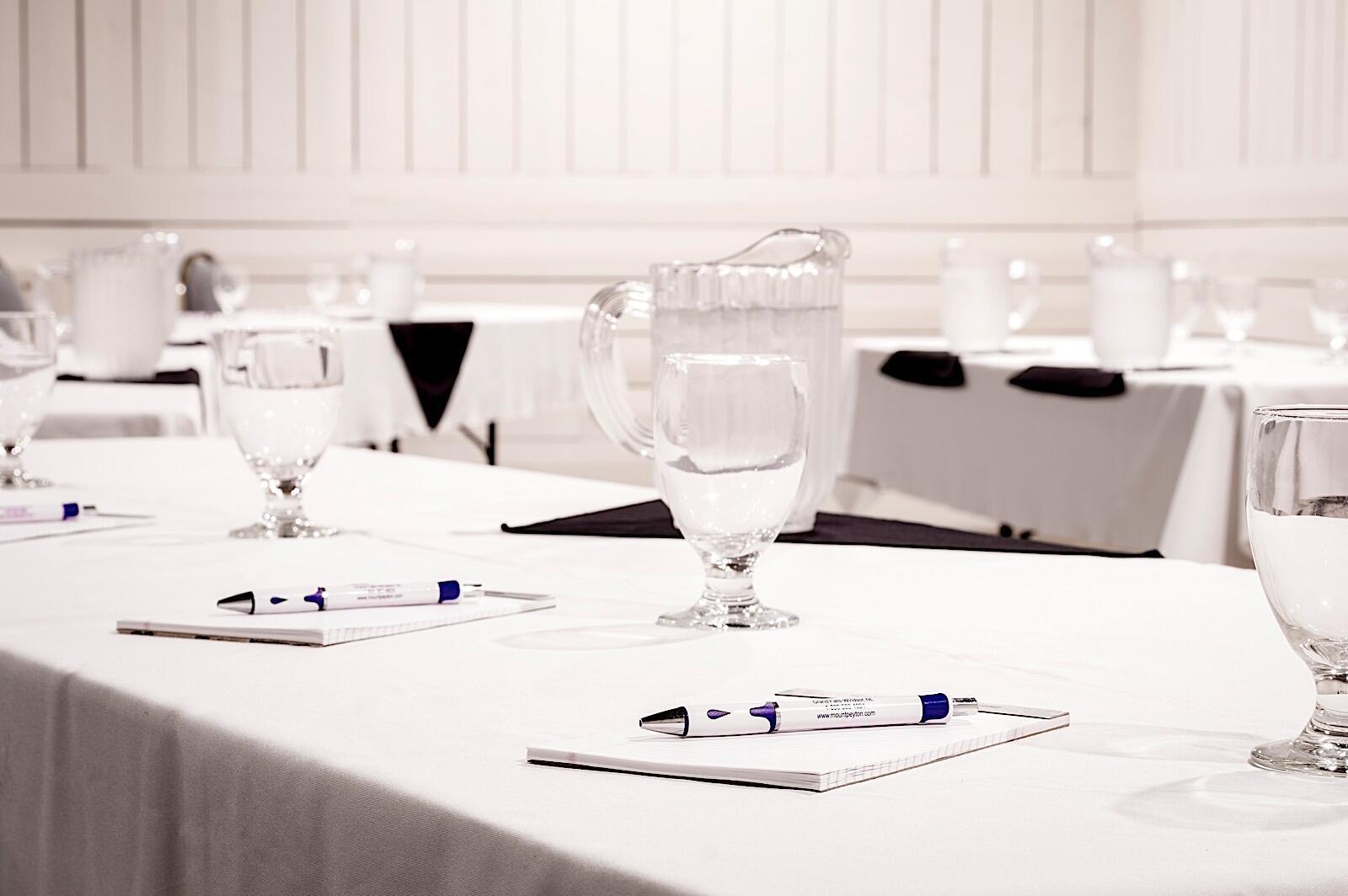 Elegant meeting space in The Mill Room