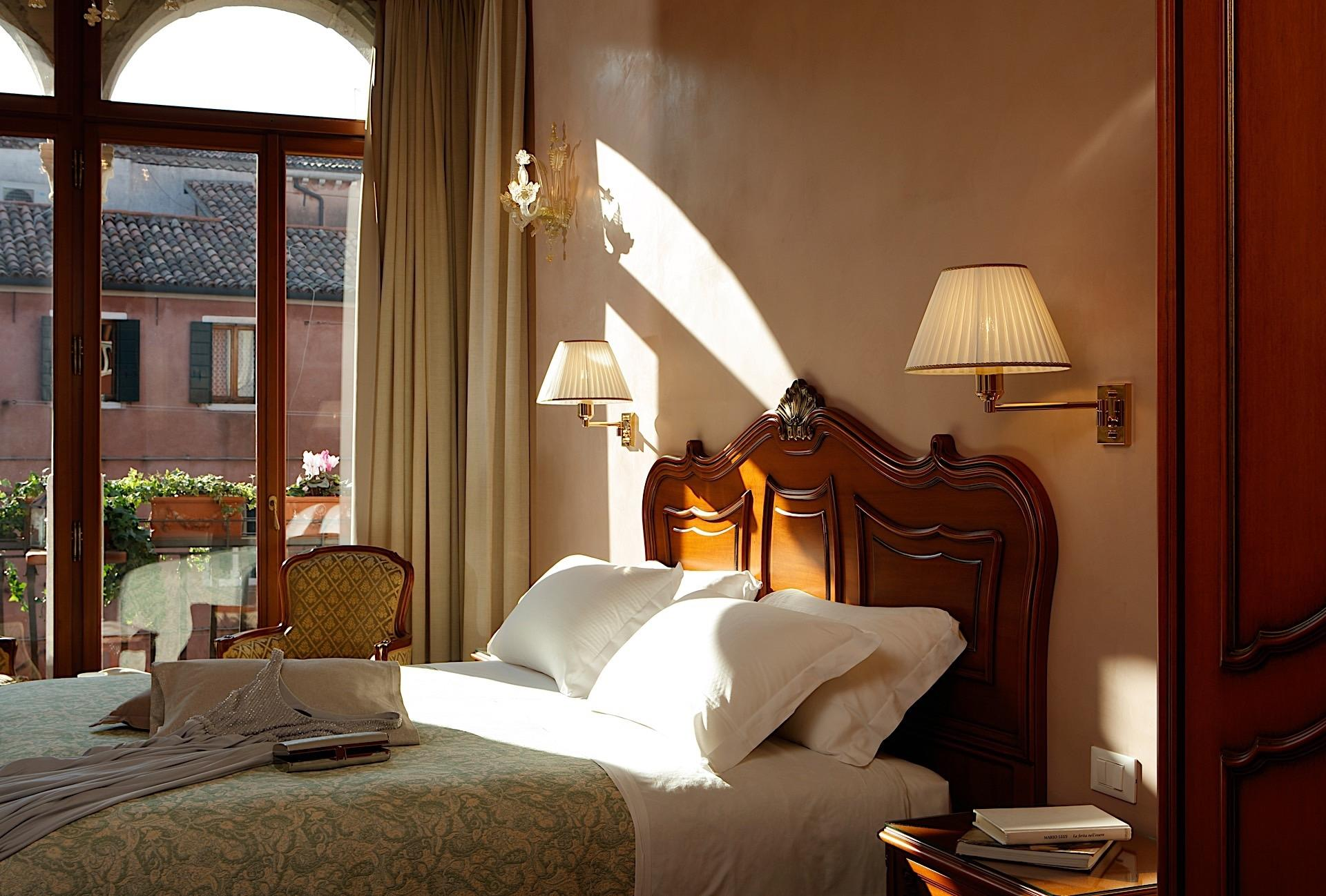 Accommodation at Hotel Bisanzio in Venice, Italy