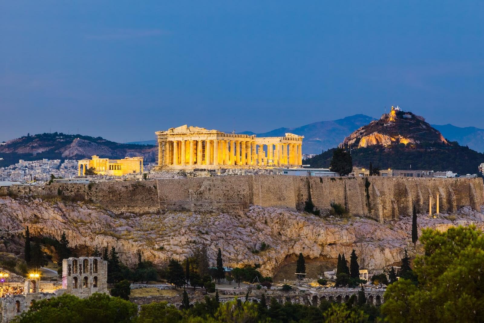 Acropolis Athens View