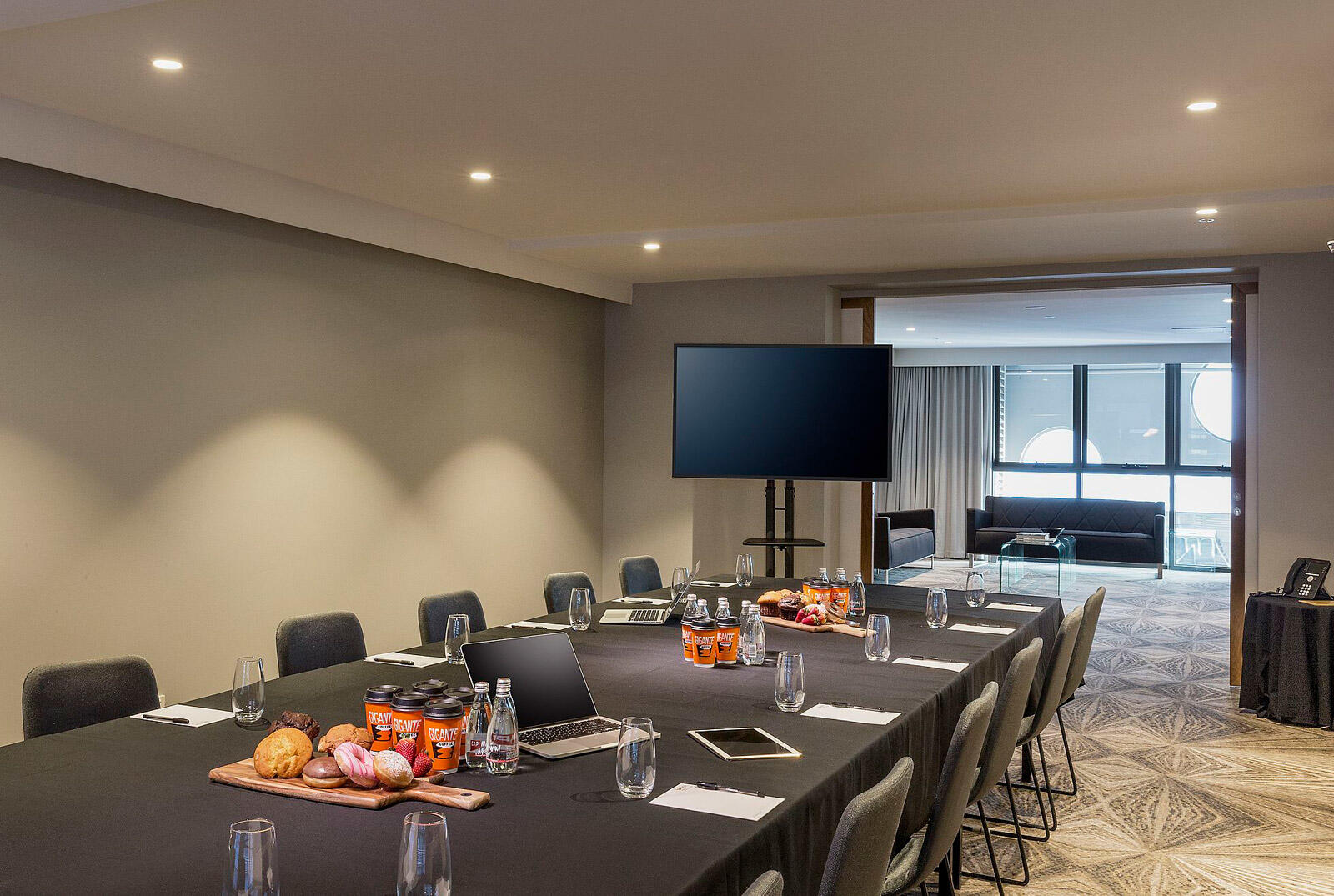 Meeting room at Brady Hotel in central Melbourne