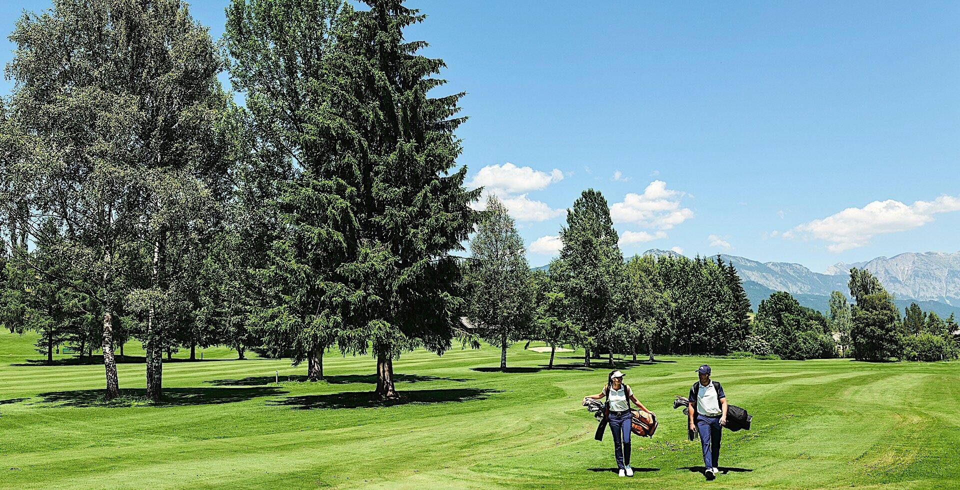Golf Course at Romantik Hotel Schloss Pichlarn