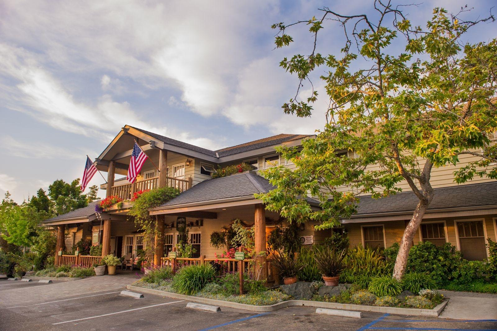 Front of Cambria Pines Lounge