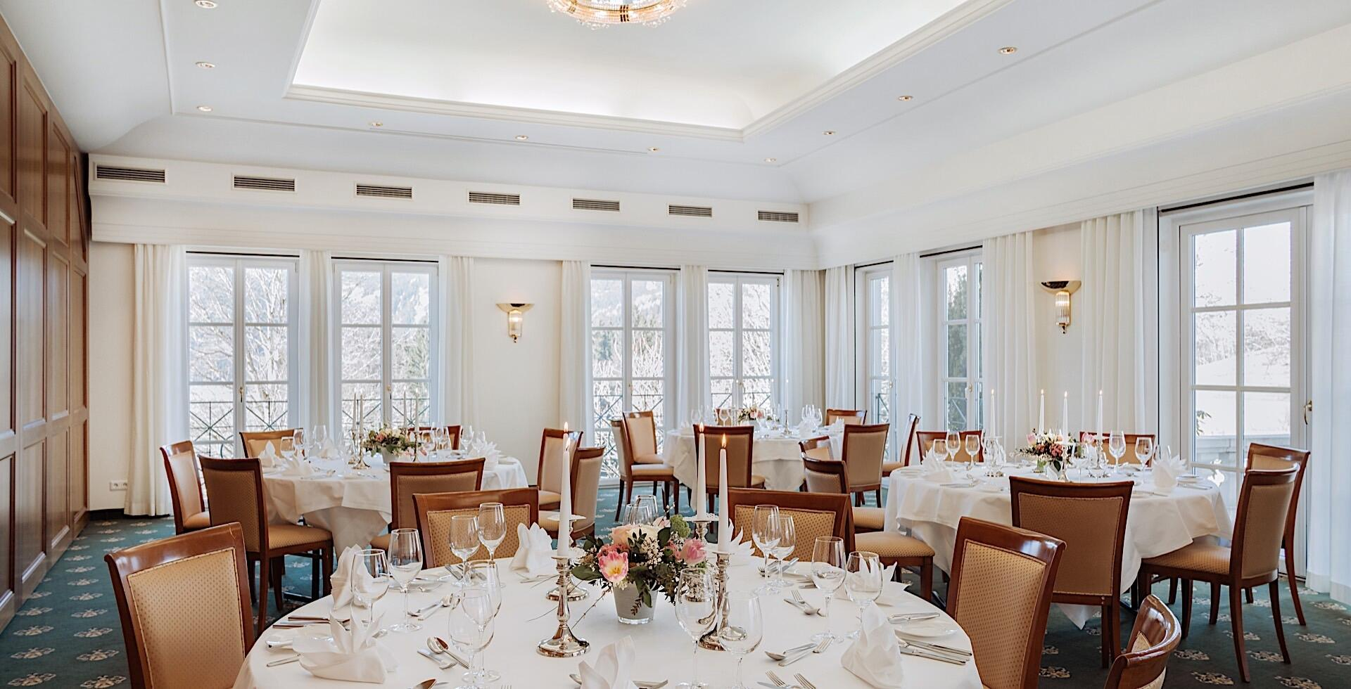 Function Room Grimming III at Romantik Hotel Schloss Pichlarn, A