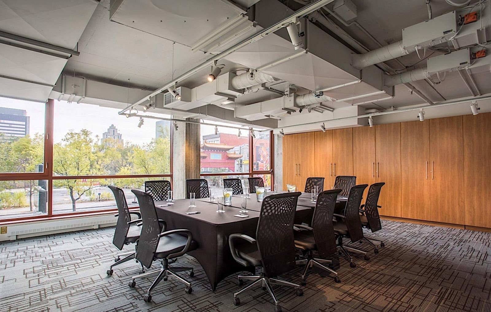 Meeting Space with Downtown Montreal Views