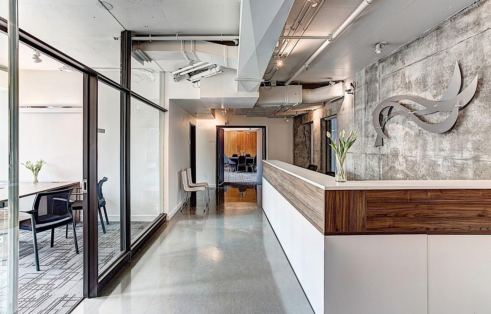 Hotel ZERO1 Reception Area
