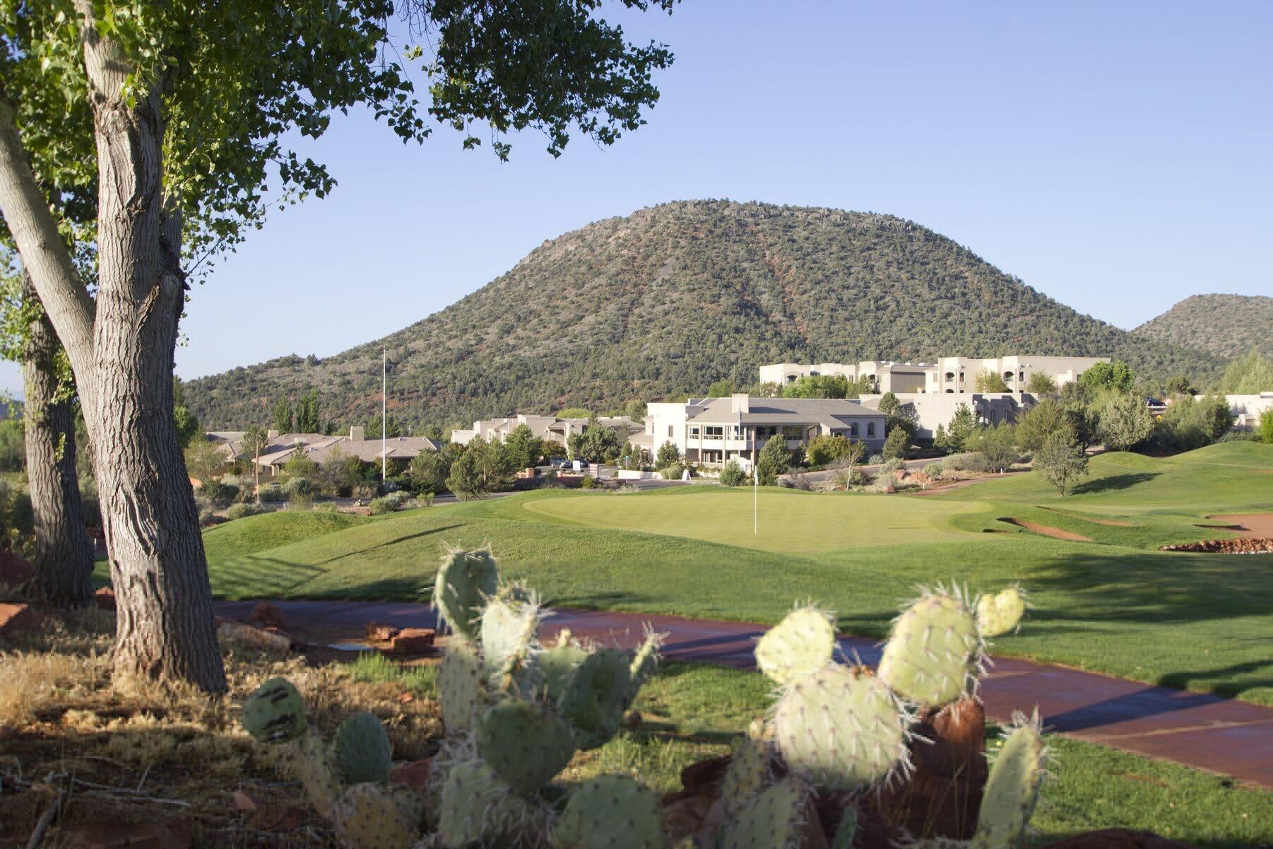 Views from The Ridge on Sedona Golf Resort in Sedona, Arizona