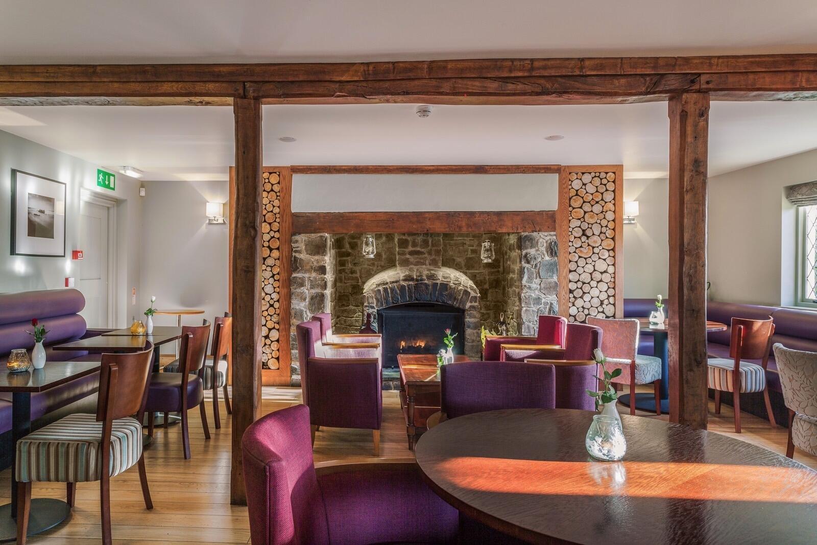 Restaurant at Woodford Bridge Country Club, Devon