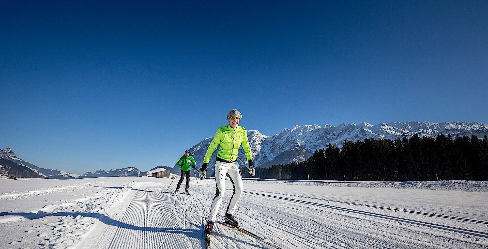 Cross-country Skiing at Romantik Hotel Schloss Pichlarn, Austria