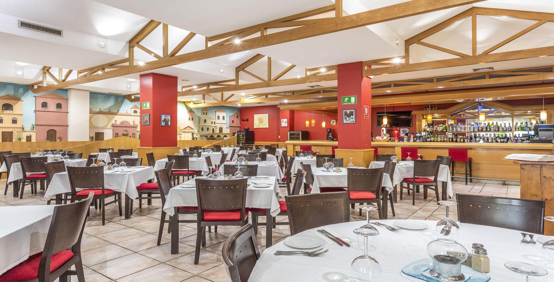 Los Amigos Beach Club Restaurant Seating Area