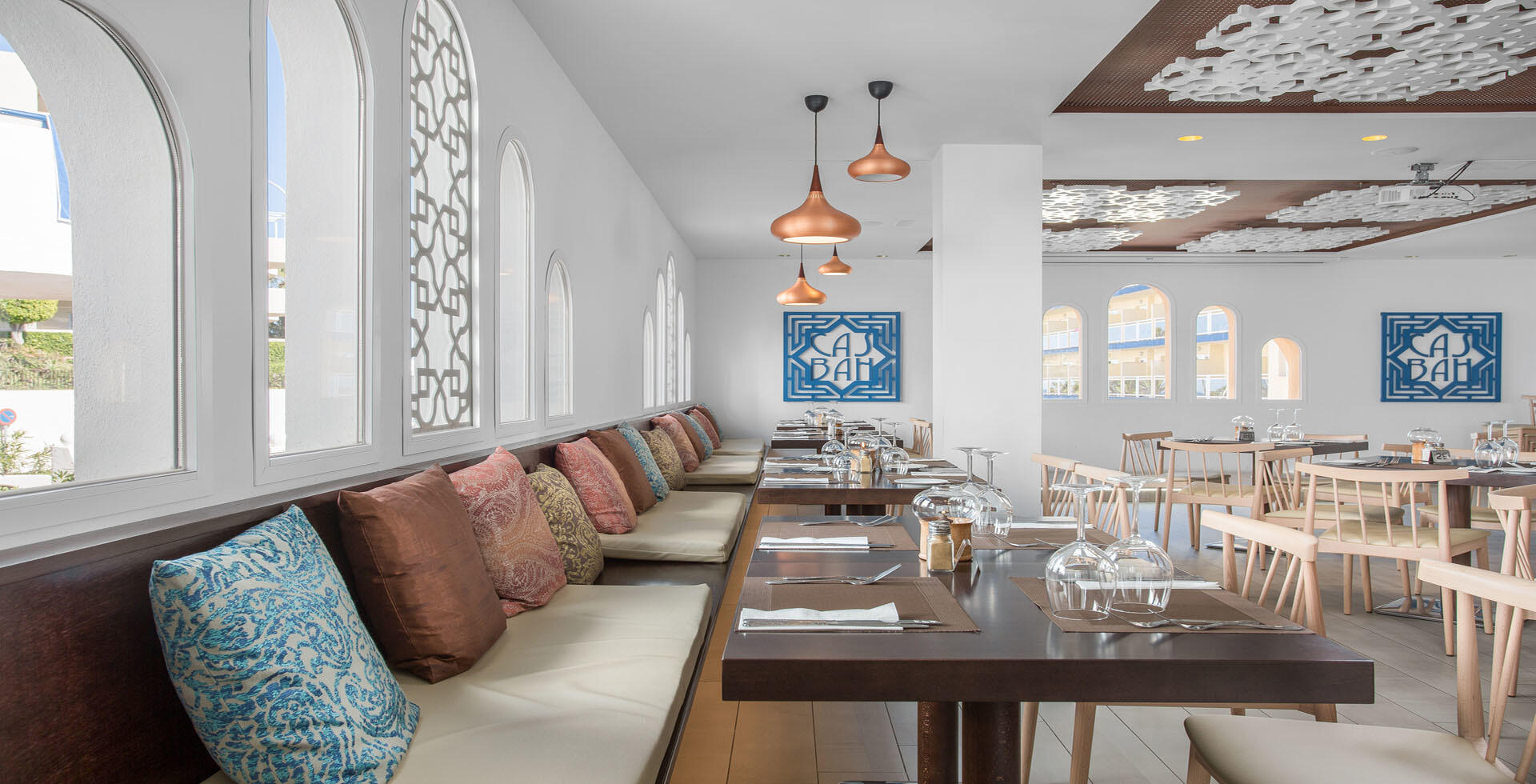 Sahara Sunset Restaurant Seating