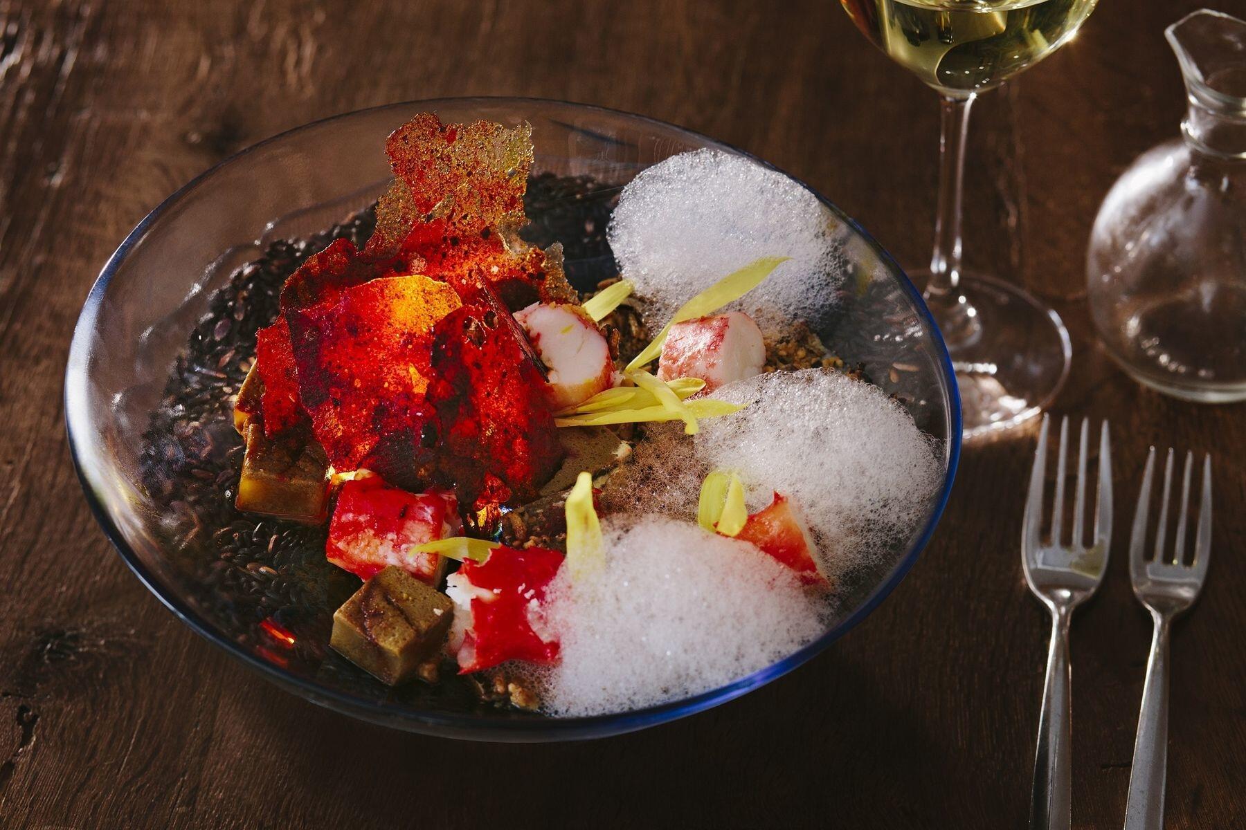Spectacular lobster dish