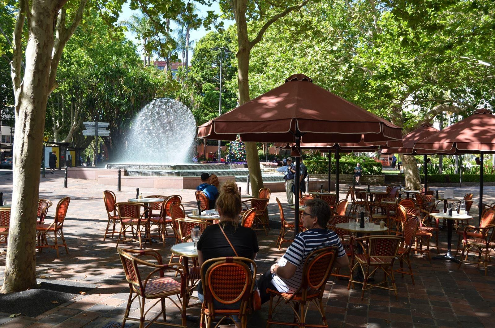 Fountain Cafe Sydney