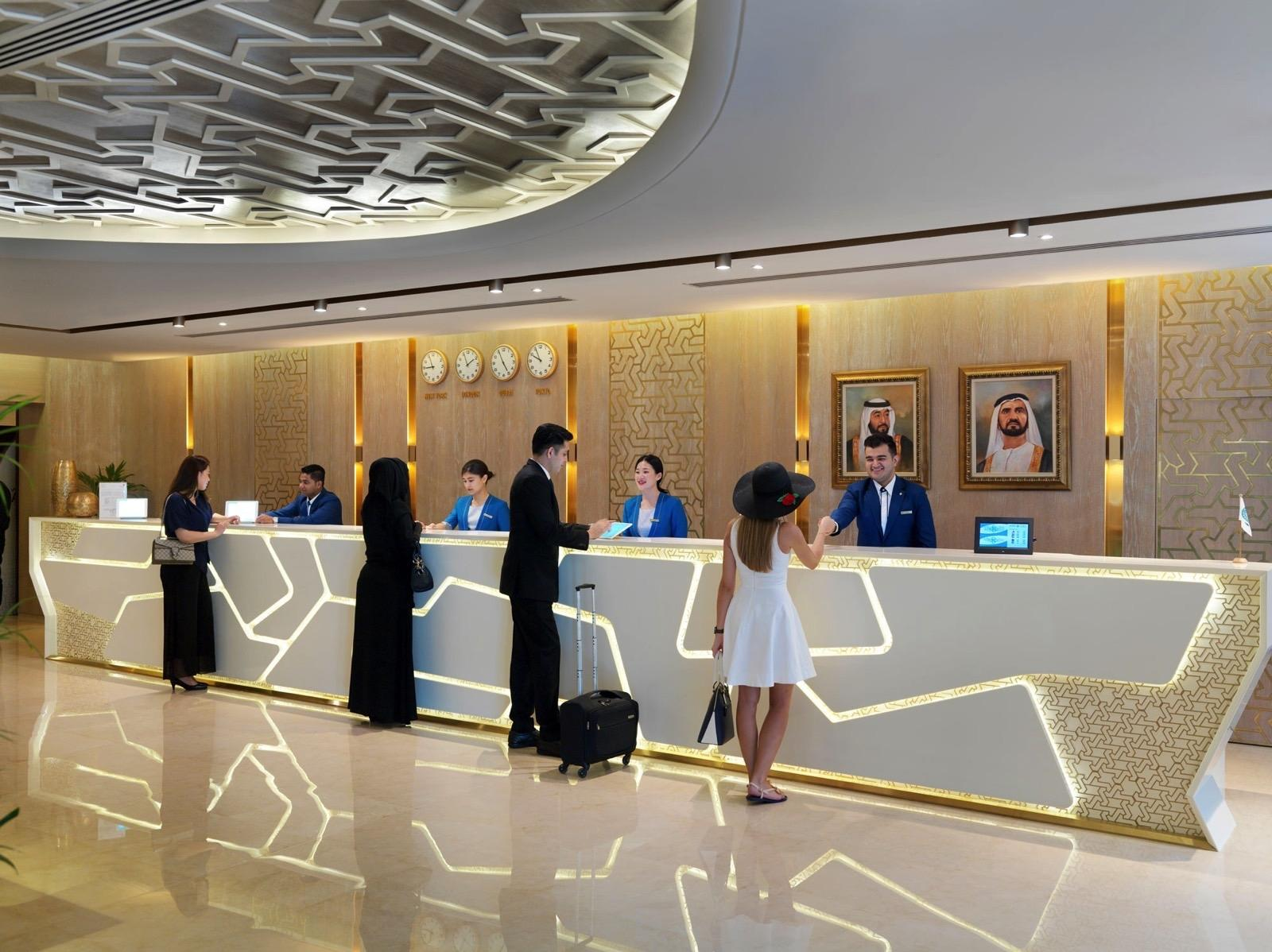Lobby at Two Seasons Hotel & Apartments in Dubai