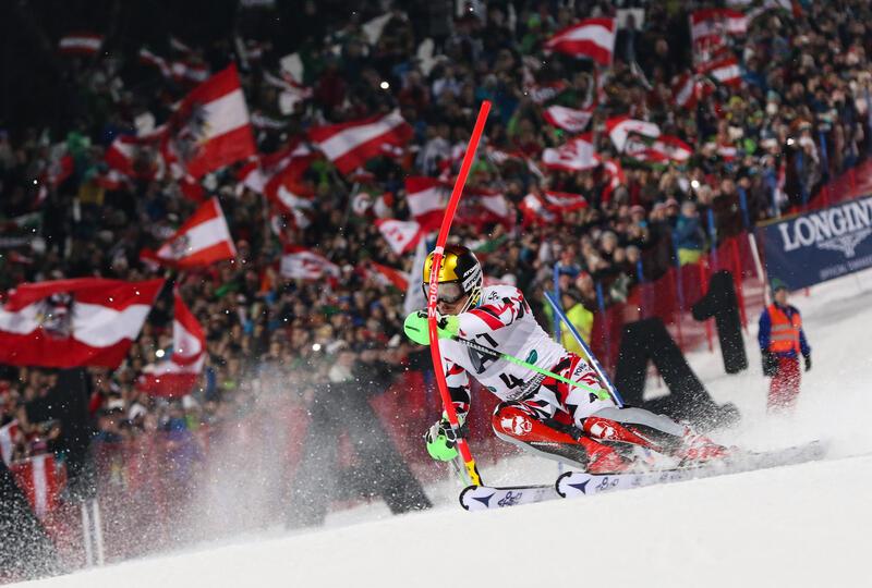 Ski World Cup at Romantik Hotel Schloss Pichlarn, Austria