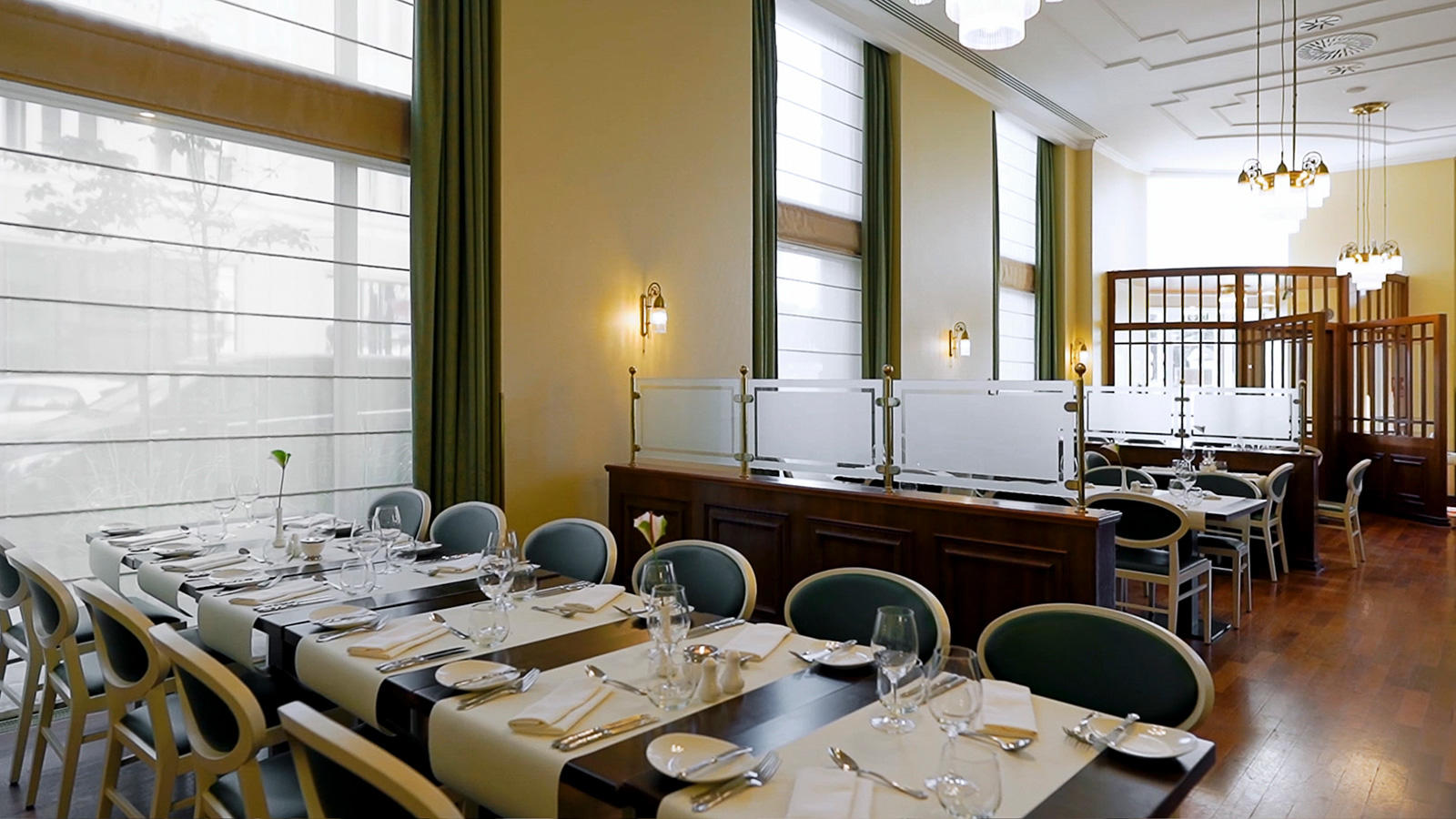 Polonia Restaurant at Polonia Palace Hotel, Warsaw