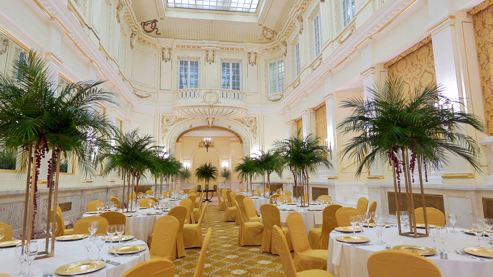 Banquet Hall at Polonia Palace Hotel, Warsaw