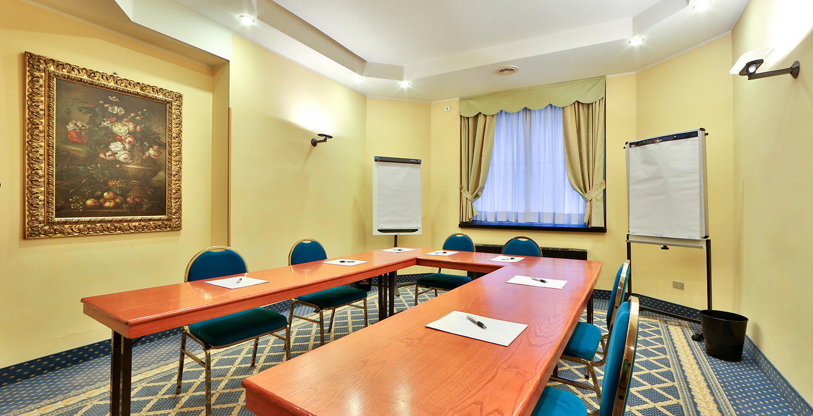 Meeting Room at Hotel Mozart in Milan