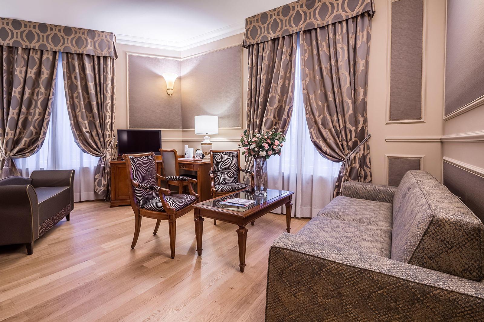 Junior Suite at Grand Visconti Palace in Milan