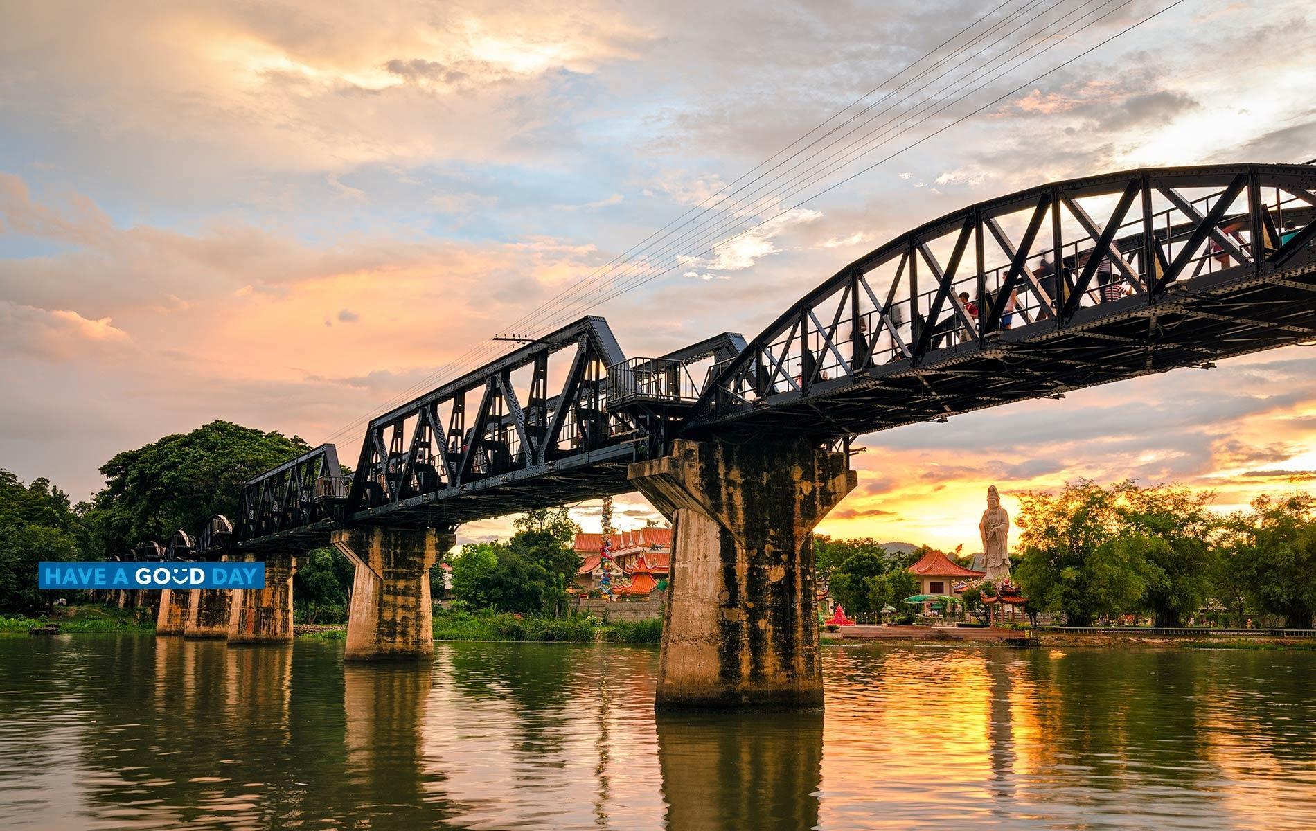 Bridge in Kanchanaburi