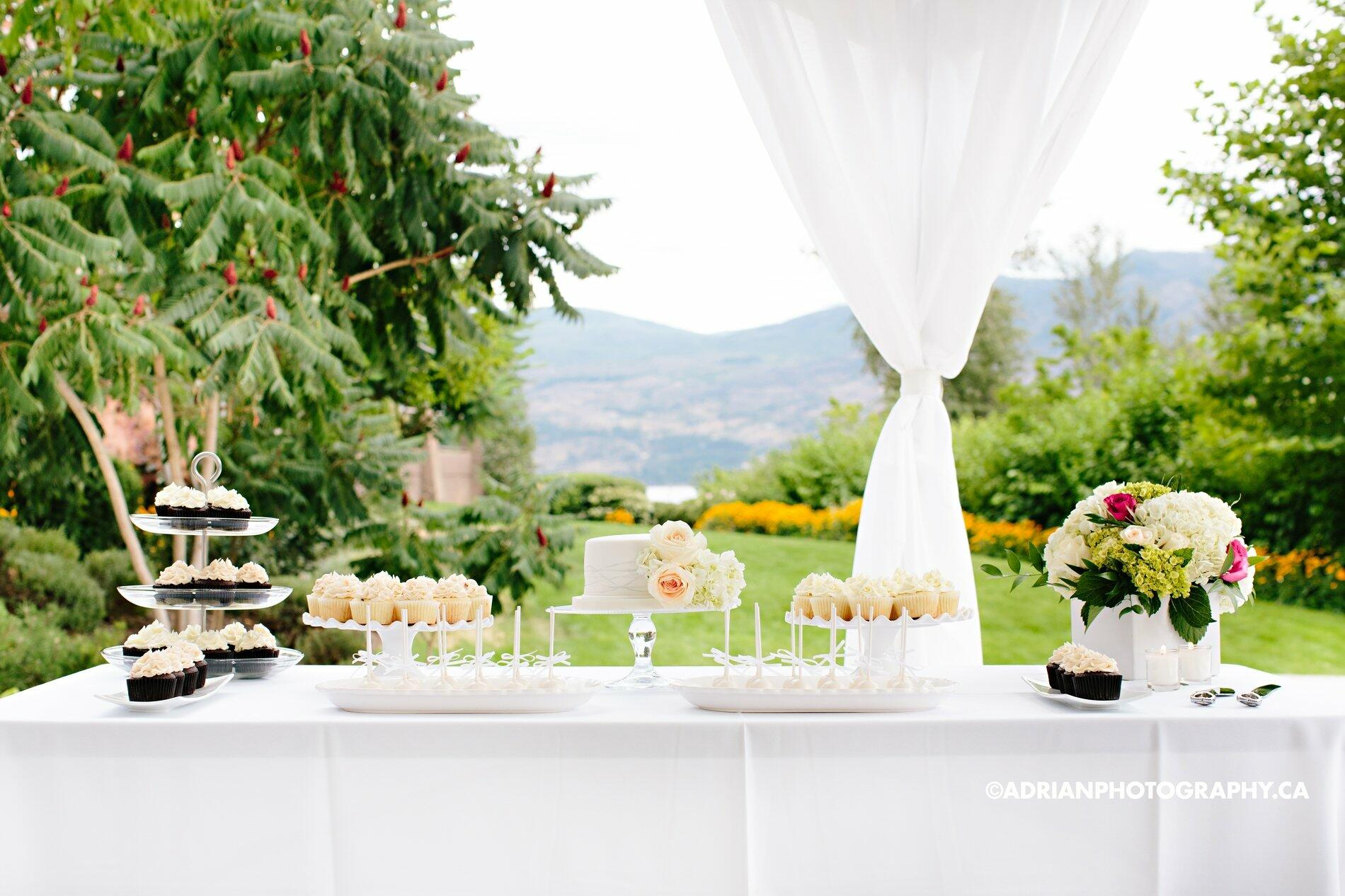 Wedding Gardens Dessert Table