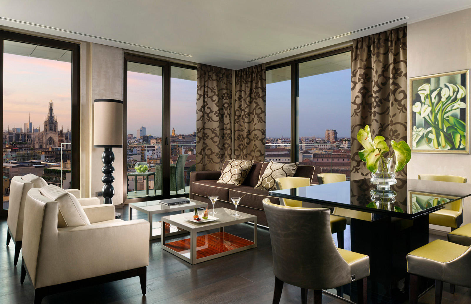 Presidential Suite at Uptown Palace in Milan