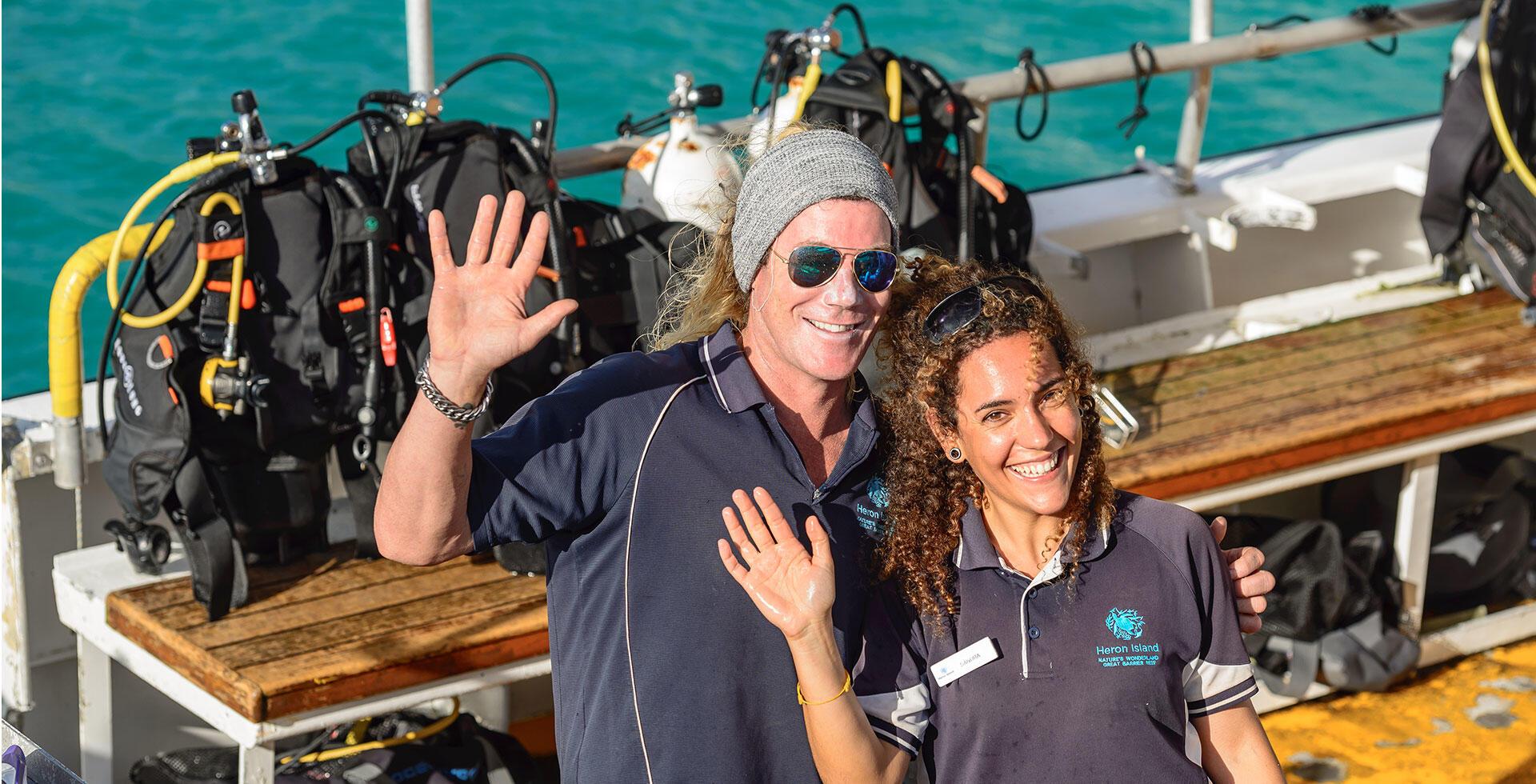 Dive Boat - Heron Island