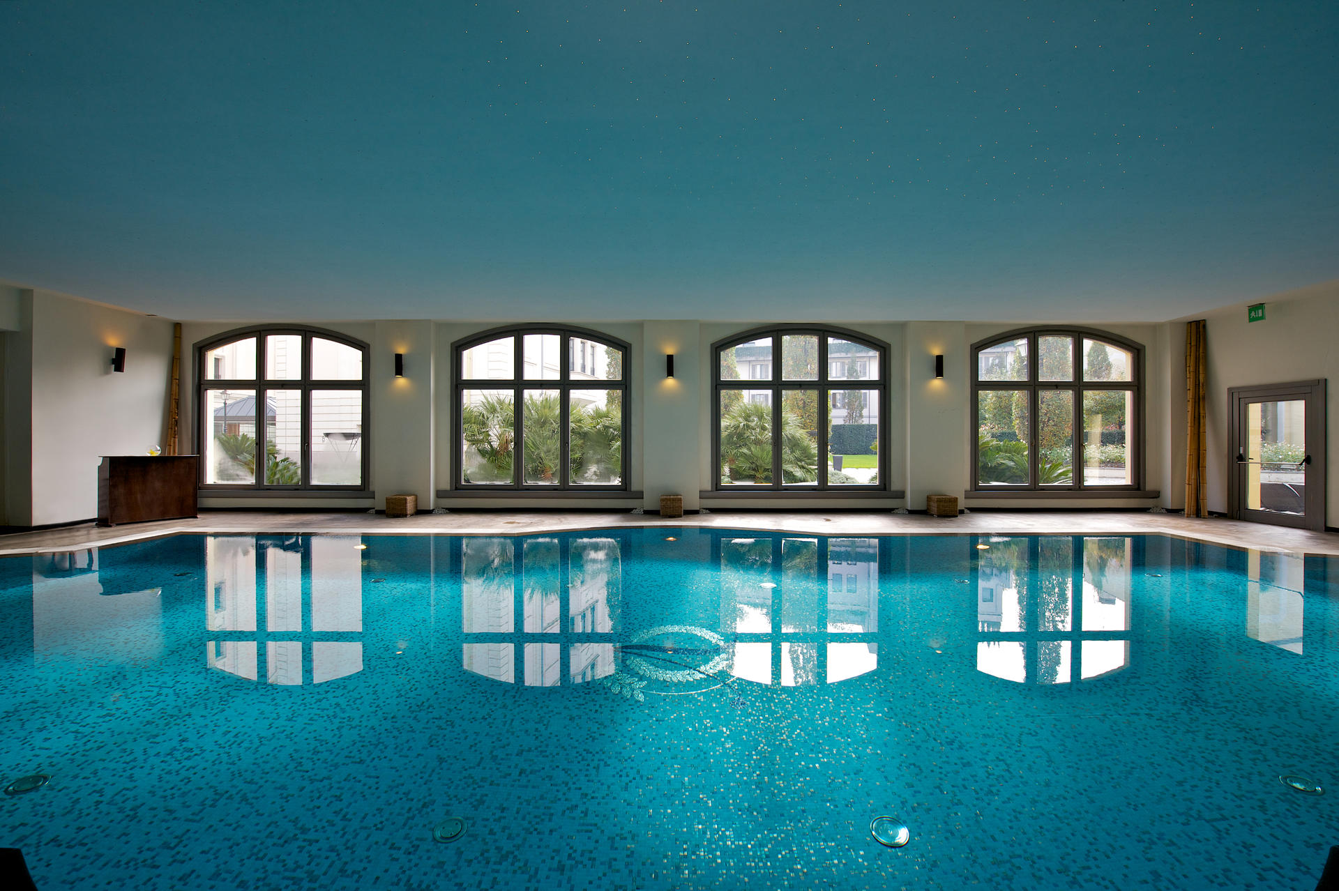 Pool at Grand Visconti Palace in Milan