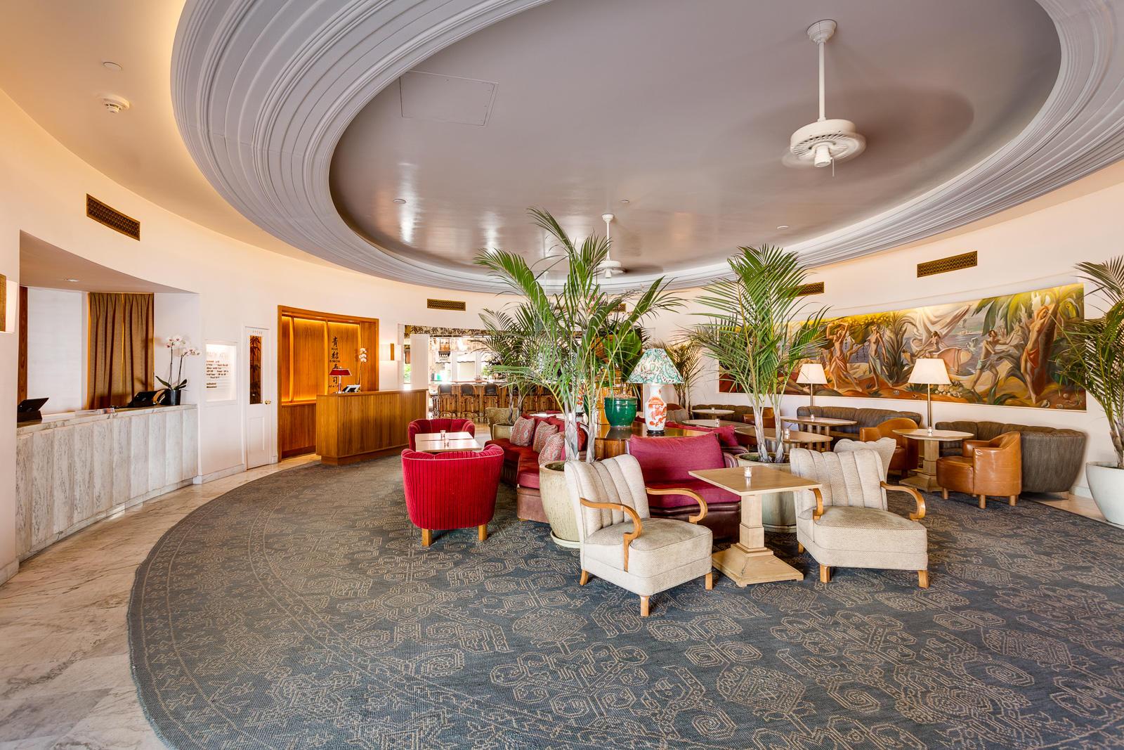 Deco Nature Salon the plymouth south beach   luxury boutique hotel   miami beach
