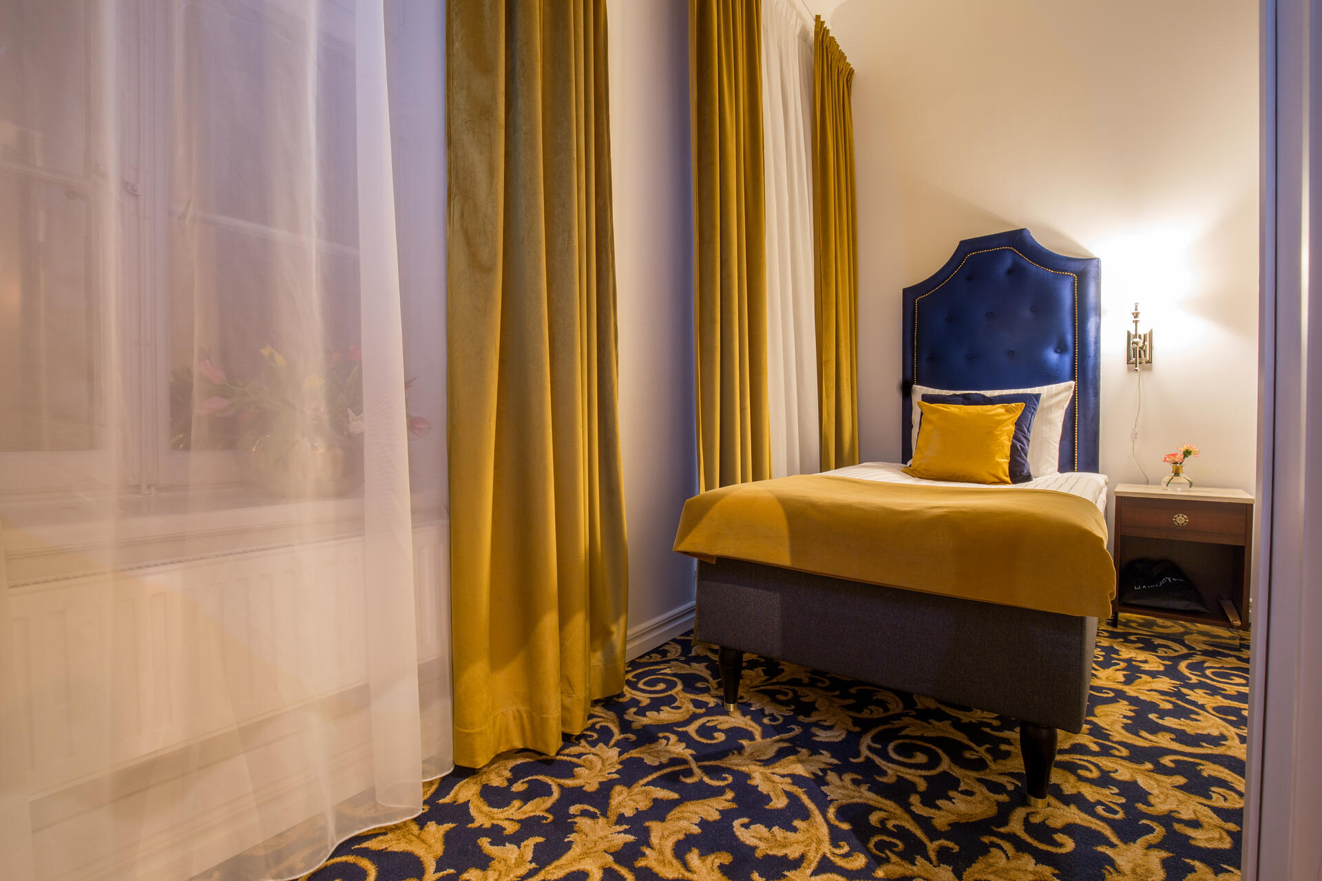 Bedroom at Hotel Gamla Stan in Stockholm
